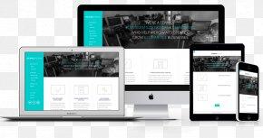 Web Design - Responsive Web Design Web Development Mockup Handheld Devices PNG
