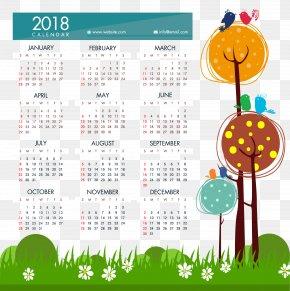 Fluffy Calendar Template - 365-day Calendar Template Month PNG