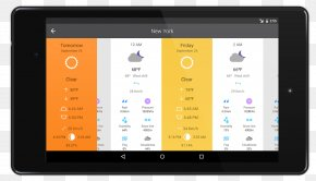 Weather - Handheld Devices Electronics Multimedia Gadget Tablet Computers PNG