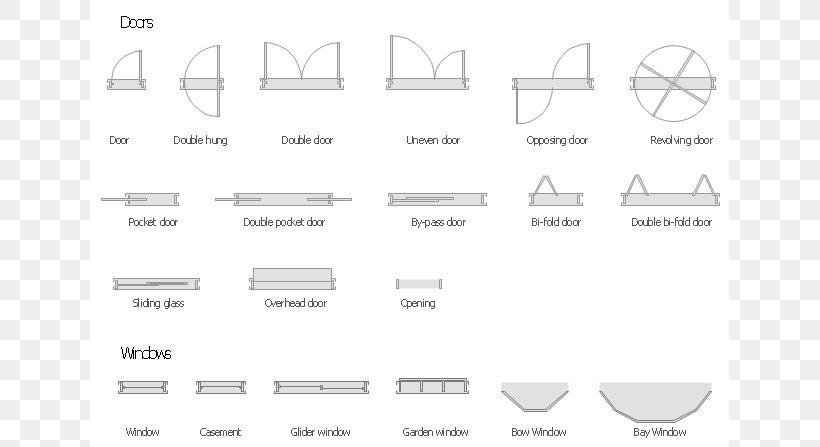 Window Floor Plan Door, PNG, 640x447px