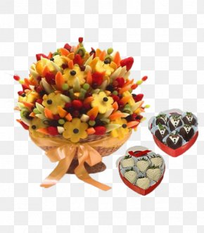 Wedding - Flower Bouquet Fruit Food Gift Baskets Edible Arrangements Wedding PNG