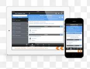 Mobile App Template - Smartphone Handheld Devices Mobile App Development PNG