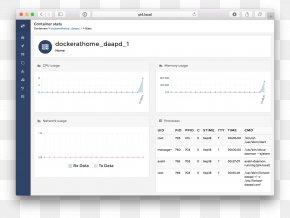 Statistics - Computer Program User Interface Docker Computer Software PNG