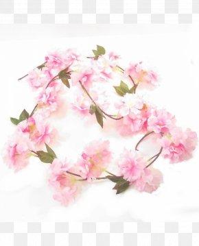 Flower Garland - Artificial Flower Floral Design Garland Cut Flowers PNG