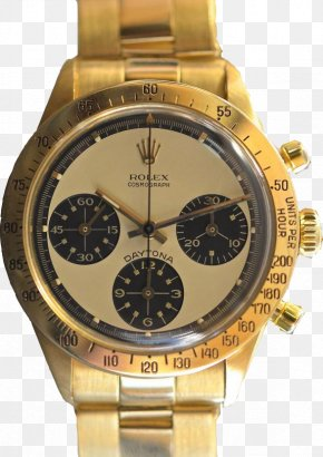 Gold - Rolex Daytona Gold Watch Rolex Yacht-Master PNG