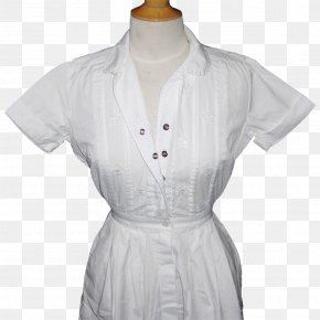 Dress - Dress Nurse Uniform Clothing Sleeve Blouse PNG