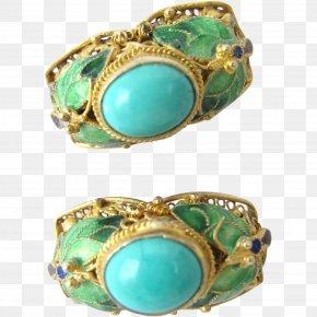 Jewellery - Turquoise Earring Jewellery Costume Jewelry Bracelet PNG