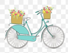 Bicycles - Bicycle Cycling Drawing Clip Art PNG