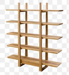 Store Shelf - Table Shelf Bookcase Furniture Living Room PNG