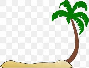 Beach Sand Cliparts - Beach Arecaceae Clip Art PNG