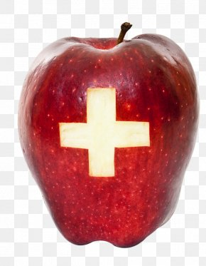 Cross Apple - Safety Warning Sign First Aid Kit Emergency PNG