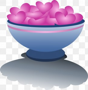 Valentine's Day - Valentine's Day Bowl Cupid Clip Art PNG