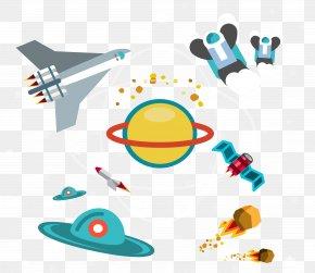 Vector Space Elements - Earth Euclidean Vector Element Clip Art PNG