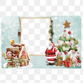 Christmas Frame - Santa Claus Christmas PNG