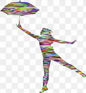 Chrome - Dance Silhouette Umbrella Clip Art PNG