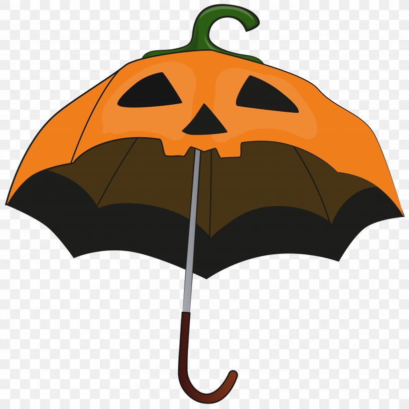 Halloween Pumpkin Umbrella Candy Corn Clip Art, PNG, 6275x6276px, Halloween, Art, Clip Art, Costume, Costume Party Download Free