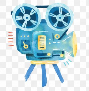 Cartoon Projector - Parcul Titan Cartoon Film Movie Projector PNG