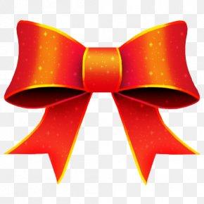 Christmas Ribbon Download - Christmas Red Ribbon Icon PNG