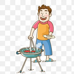 Barbecue Cookout - Illustration Image Clip Art Barbecue PNG