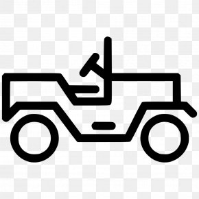 Car Icon Transparent Transport - Jeep Car Willys MB PNG