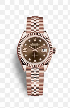 Rolex - Rolex Lady-Datejust Rolex Oyster Perpetual Datejust Watch Jewellery PNG