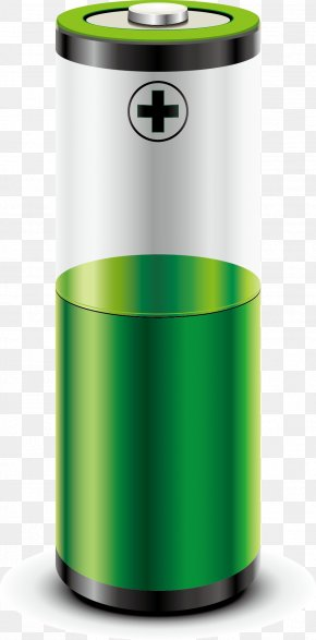 Green Battery Vector - Battery Charger Rechargeable Battery Nine-volt Battery Lithium-ion Battery PNG
