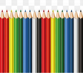 School Pencils Decor Clipart - I, Pencil Blackwing 602 Colored Pencil PNG