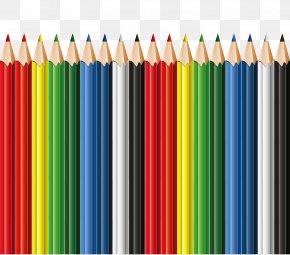 School Pencils Decor Clipart - I, Pencil Blackwing 602 Colored Pencil PNG