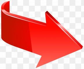 Red Arrow Right Transparent Clip Art Image - Arrow Clip Art PNG