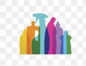 Special Cleaning Agent For Cleaning Garbage - Cleaning Agent Cleaner Clip Art PNG
