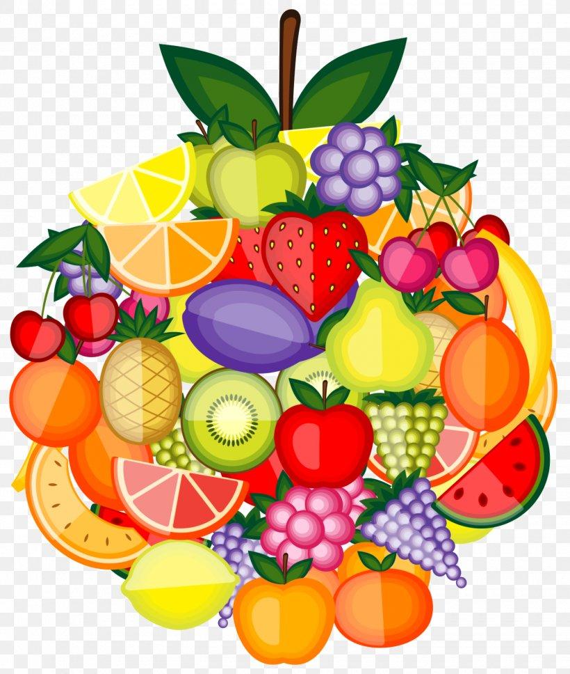 картинка вектор фрукты