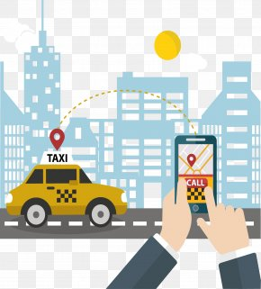 Mobile Taxi Software - Taxi Mobile App Development Smartphone PNG