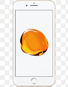 Iphone 7 Plus - Apple Telephone Gold 4G PNG