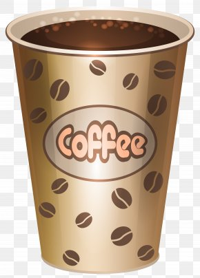 Coffee Cup Clipart Image - Coffee Cup Ice Cream Clip Art PNG