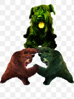 Dire Ferocious Claws - Pug Bear Dog Daycare Clip Art PNG