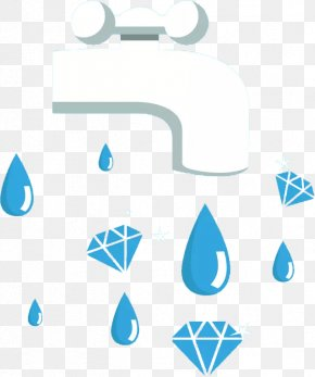 Hand Painted Water Droplets - Water Drop PNG