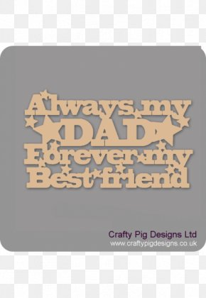 Father's Day Engraving Craft Medium-density Fibreboard PNG