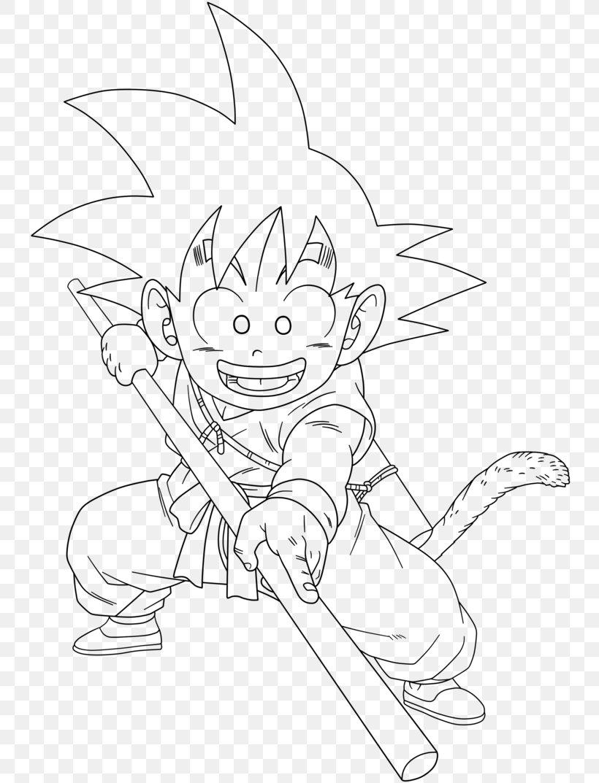 Line Art Goku Gohan Majin Buu Vegeta Png 745x1073px Line Art