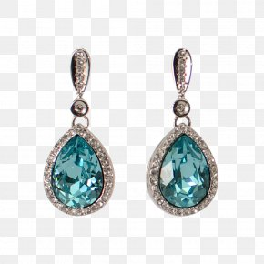 Earring - Earring Turquoise Bijou Necklace Jewellery PNG