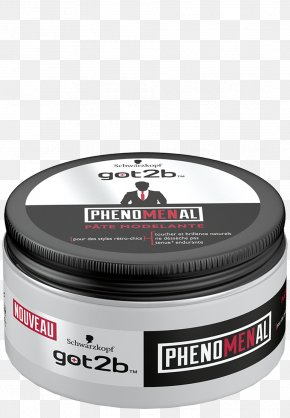 Hair - Göt2b Phenomenal Molding Paste Hair Styling Products Schwarzkopf KMS California HairPlay Molding Paste Hair Wax PNG