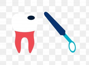 Vector Tooth Decay Dental Mirror Material - Tooth Decay Mouth Mirror PNG