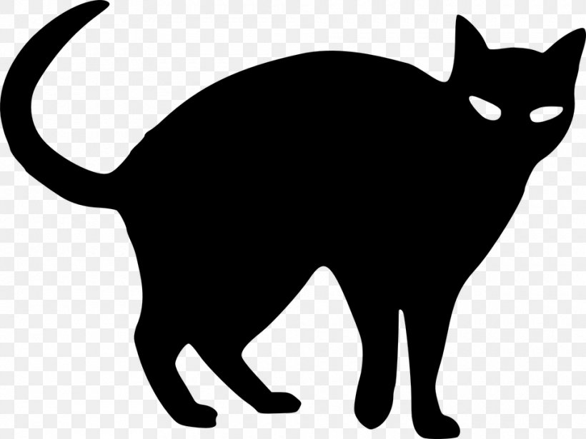 Black Cat Drawing Silhouette Clip Art Png 960x720px Cat Art Artwork Black Black And White Download