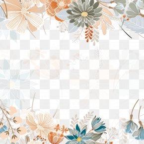 Autumn Flower Poster Background - Poster Gratis Autumn Sales Promotion PNG
