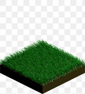 Tile - Lawn Artificial Turf Isometric Projection Tile Isometric Graphics In Video Games And Pixel Art PNG