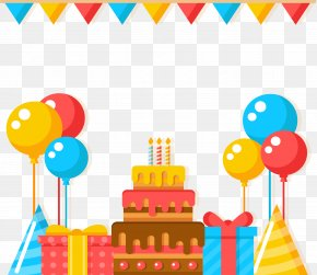Crazy Birthday Party - Party Birthday Euclidean Vector PNG