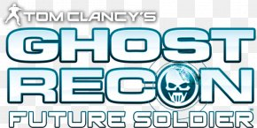 Tom Clancys Ghost Recon Logo Transparent Image - Tom Clancys Ghost Recon: Future Soldier Tom Clancys Ghost Recon Wildlands Tom Clancys Ghost Recon 2 Tom Clancys Splinter Cell PlayStation 3 PNG