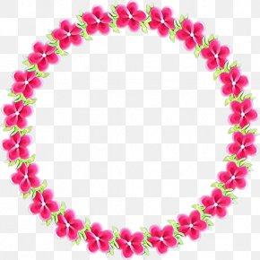Lei Jewelry Making - Pink Body Jewelry Fashion Accessory Magenta Jewellery PNG