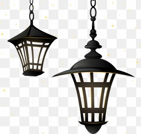 Vector Retro Street Light - Street Light Lighting Chandelier Lamp PNG