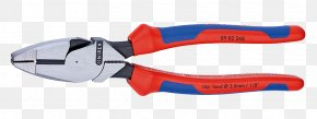 Plier File - Knipex Linemans Pliers Workshop Pincers PNG