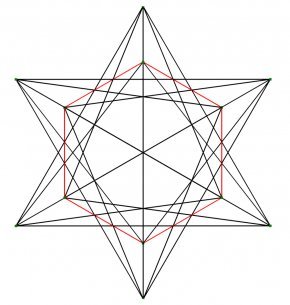 Cube - Small Stellated Dodecahedron Stellation Sacred Geometry PNG
